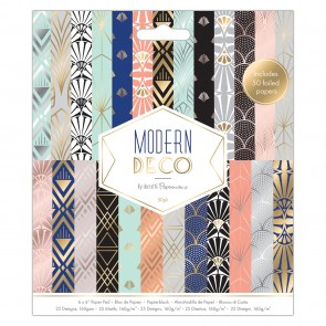 "6 x 6"" Paper Pad (50pk) - Modern Deco"