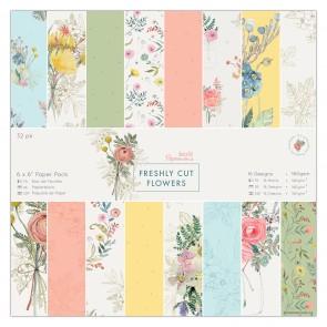 """6 x 6"""" Paper Pack (32pk) - Freshly Cut Flowers"""