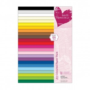 A4 Coloured Paper Pack (48pk)