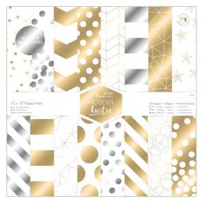 """12 x 12"""" Paper Pack (36pk) - Modern Lustre"""