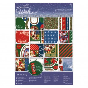 A4 Ultimate Die Cut Paper Pack (48pk) - A Christmas Wish