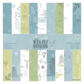 "6 x 6"" Paper Pack (36pk) - Winter Woodland"