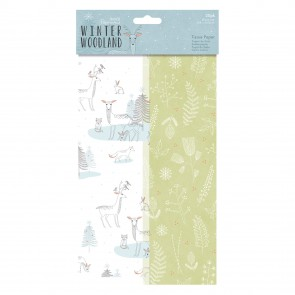 Tissue Paper (20pk) - Winter Woodland