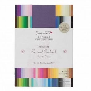 A5 Premium Cardstock Textured (75pcs) - Capsule - Multi