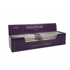 Cellophane Filled CDU - Clear 24x50x152cm Rolls