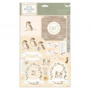 A4 Decoupage Pack - Tales from Willson Wood - Woodland Creatures