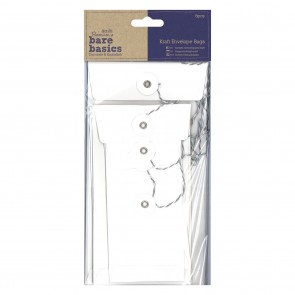 Kraft Envelope Bags (6pcs) - Bare Basics - Rectangular White