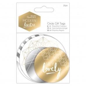 Circle Gift Tags (20pk) - Modern Lustre