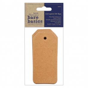 Corrugated Gift Tags (12pcs) - Bare Basics