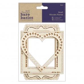 Wood Frames (4pcs) - Bare Basics - Small
