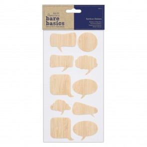 Bamboo Stickers (10pcs) - Bare Basics