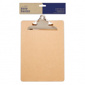 A4 Kraft Clipboard - Bare Basics