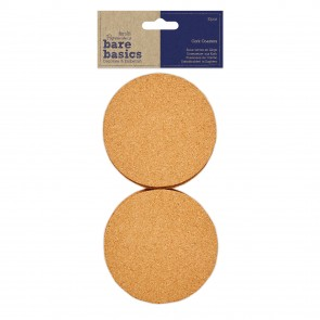 Cork Coasters (10pk) - Bare Basics