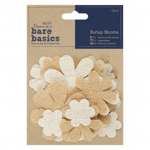 Burlap Blooms (40pcs)