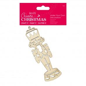 Make Your Own Decoration - Nutcracker - Create Christmas