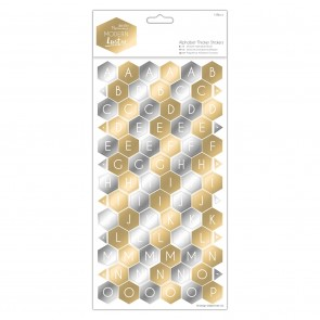 Alphabet Thicker Stickers (168pcs) - Modern Lustre