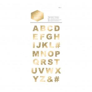 Alphabet Stickers - Modern Lustre