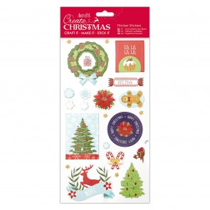 Christmas Thicker Stickers - Christmas Icons