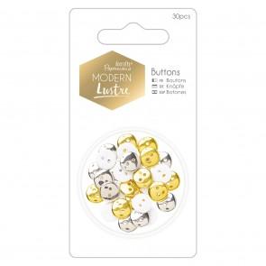 Buttons (30pcs) - Modern Lustre
