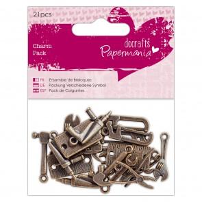 Charm Pack (21pcs) - Papermania - Tools