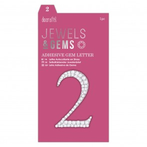 Adhesive Gem Number - 2 - Jewels & Gems