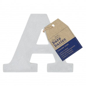 Concrete Letter (1pc) - Bare Basics - A