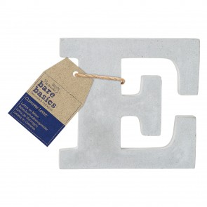 Concrete Letter (1pc) - Bare Basics - E