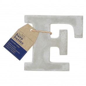 Concrete Letter (1pc) - Bare Basics - F