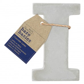 Concrete Letter (1pc) - Bare Basics - I
