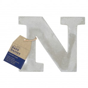 Concrete Letter (1pc) - Bare Basics - N