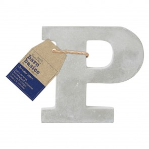 Concrete Letter (1pc) - Bare Basics - P