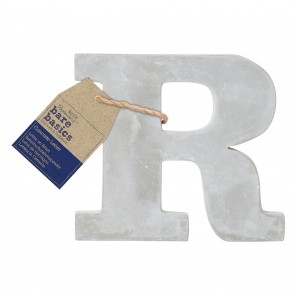 Concrete Letter (1pc) - Bare Basics - R