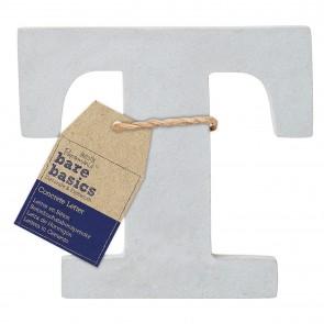 Concrete Letter (1pc) - Bare Basics - T
