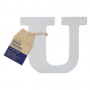 Concrete Letter (1pc) - Bare Basics - U