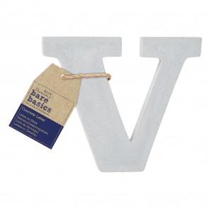 Concrete Letter (1pc) - Bare Basics - V