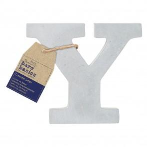Concrete Letter (1pc) - Bare Basics - Y