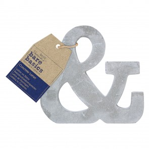 Concrete Letter (1pc) - Bare Basics - &