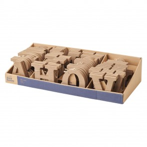 MDF Letter Dispenser (81pcs) - Bare Basics
