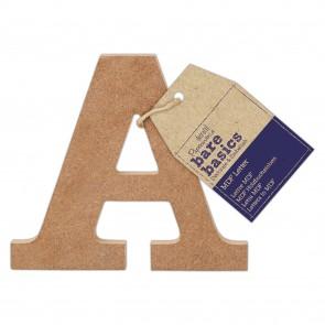 MDF Letter (1pc) - Bare Basics - A