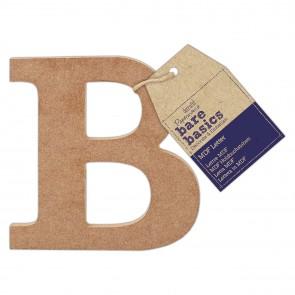 MDF Letter (1pc) - Bare Basics - B