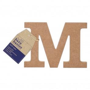 MDF Letter (1pc) - Bare Basics - M