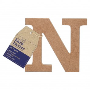 MDF Letter (1pc) - Bare Basics - N