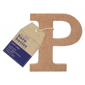 MDF Letter (1pc) - Bare Basics - P