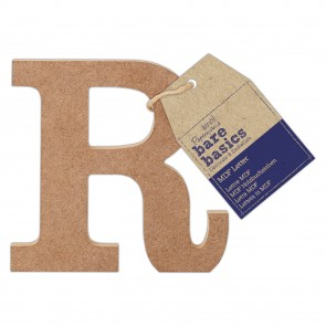 MDF Letter (1pc) - Bare Basics - R