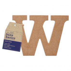 MDF Letter (1pc) - Bare Basics - W
