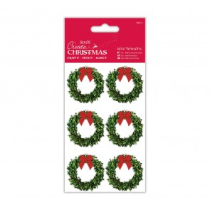 Mini Wreaths (6pcs) - Create Christmas