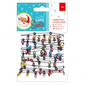 Christmas Lights Trim (3M) - Love Santa