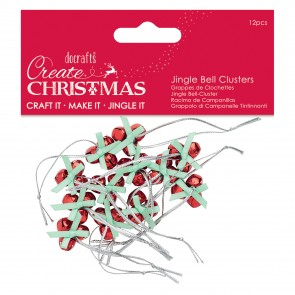 Jingle Bell Clusters (12pcs) - Create Christmas