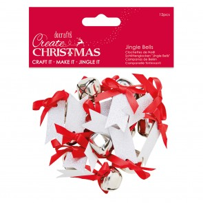 Christmas Message Bells (12pcs) - Create Christmas