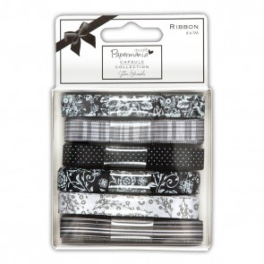 1m Ribbon (6pcs) - Capsule - Bexley Black